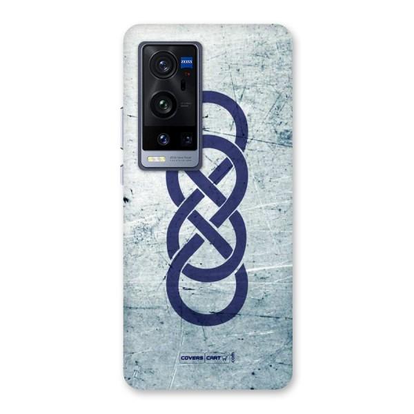 Double Infinity Rough Back Case for Vivo X60 Pro Plus