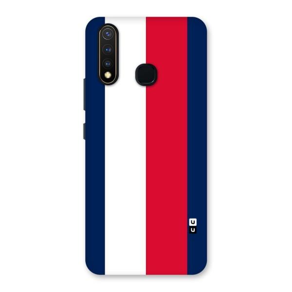 Electric Colors Stripe Back Case for Vivo U20