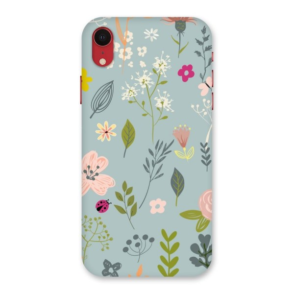 Flawless Flowers Back Case for iPhone XR