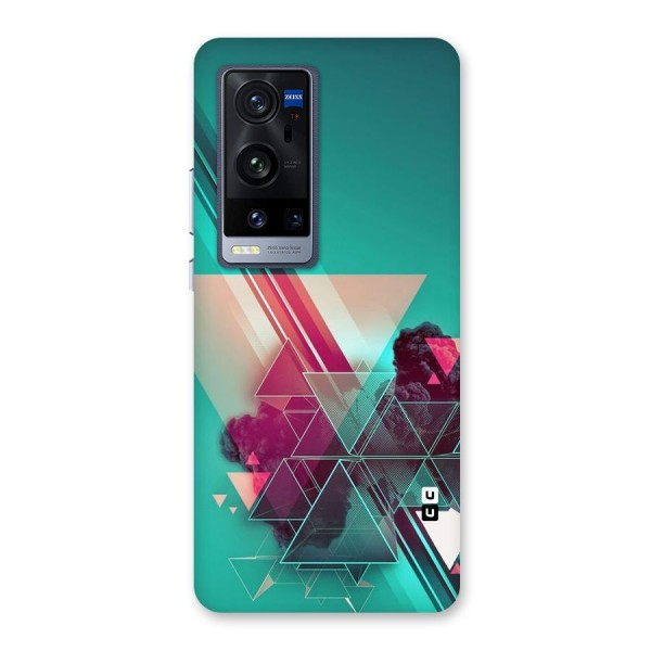 Floroscent Abstract Back Case for Vivo X60 Pro Plus