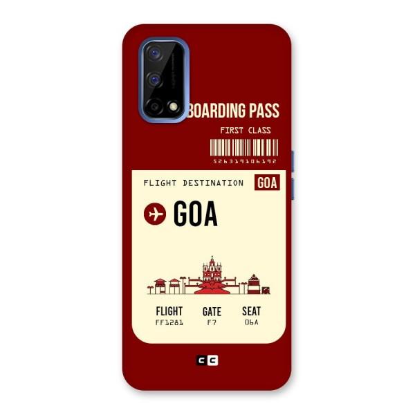 Goa Boarding Pass Back Case for Realme Narzo 30 Pro