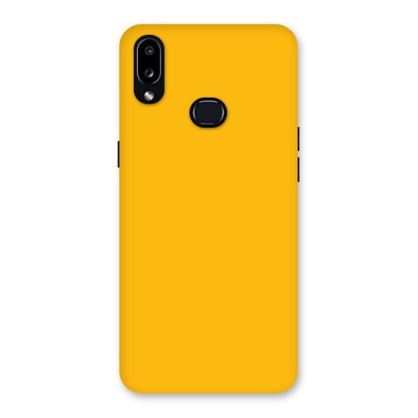 Gold Yellow Back Case for Galaxy A10s