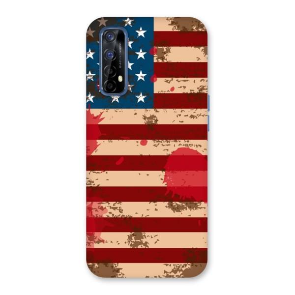 Grunge USA Flag Back Case for Realme 7
