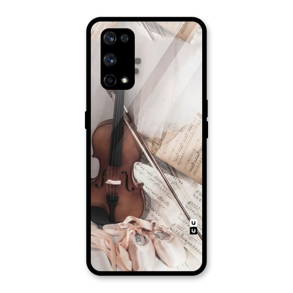 Guitar And Co Glass Back Case for Realme X7 Pro