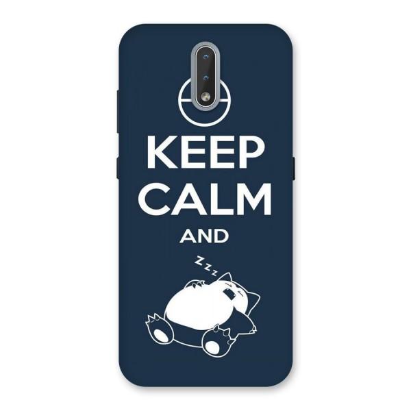 Keep Calm and Sleep Back Case for Nokia 2.3