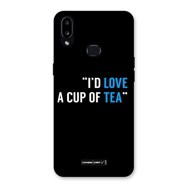 Love Tea Back Case for Galaxy A10s