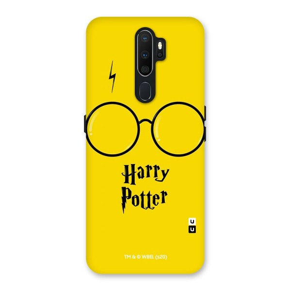 Minimalist Harry Potter Back Case for Oppo A5 (2020)
