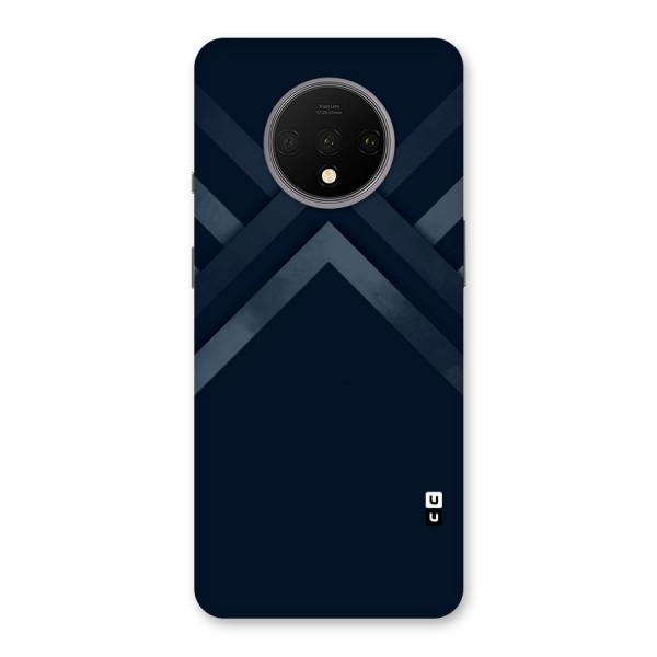 Navy Blue Arrow Back Case for OnePlus 7T