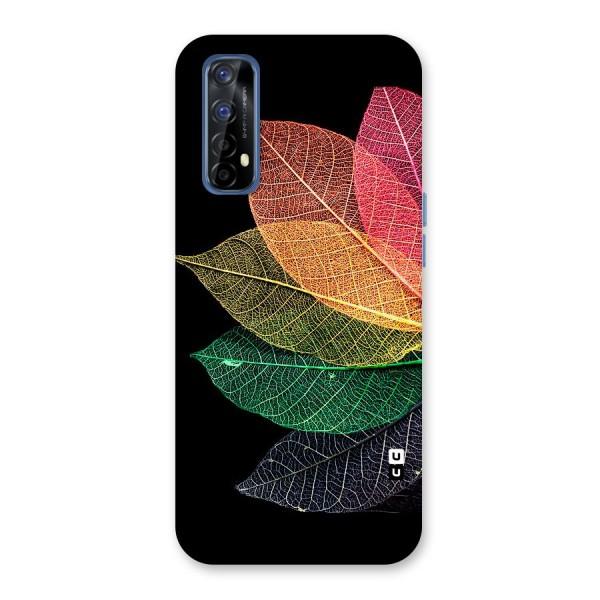 Net Leaf Color Design Back Case for Realme 7
