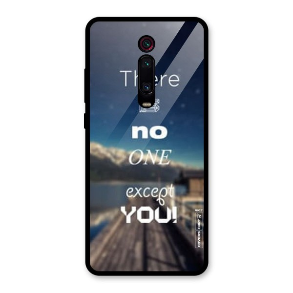No One But You Glass Back Case for Redmi K20