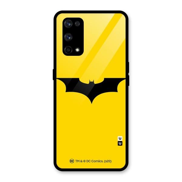 Official Batman Dark Knight Rises Logo Glass Back Case for Realme X7 Pro