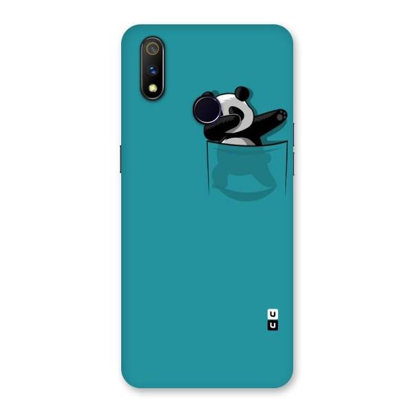 Panda Dabbing Away Back Case for Realme 3 Pro