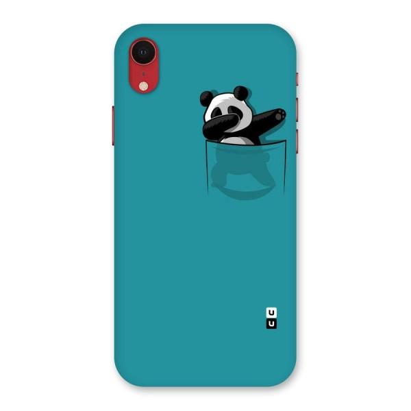 Panda Dabbing Away Back Case for iPhone XR