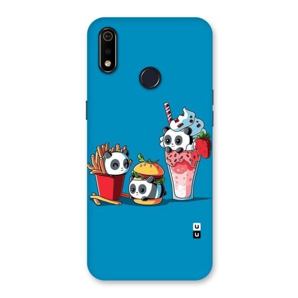 Panda Lazy Back Case for Realme 3i