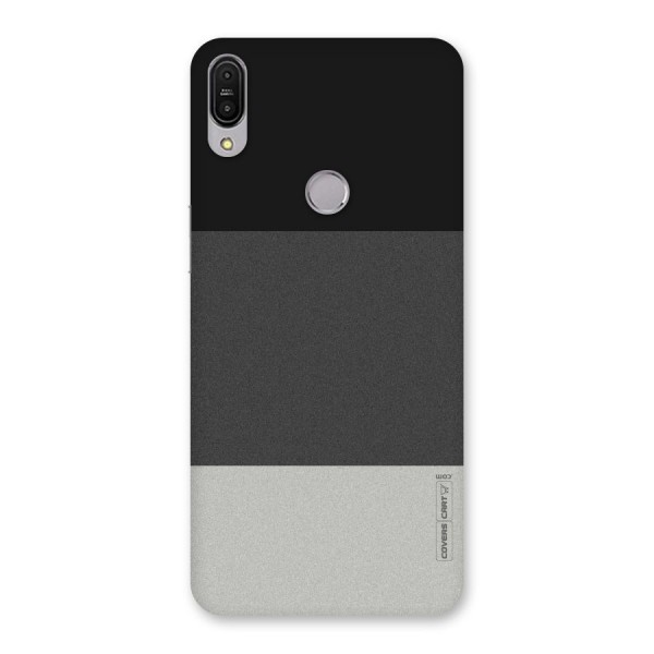 Pastel Black and Grey Back Case for Zenfone Max Pro M1