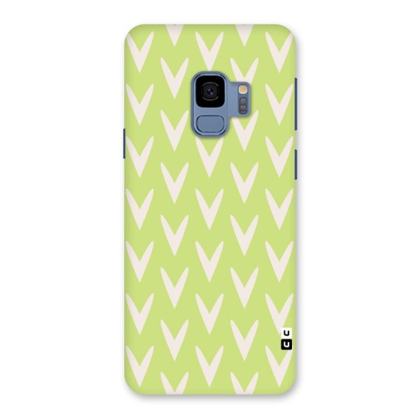Pastel Green Grass Back Case for Galaxy S9
