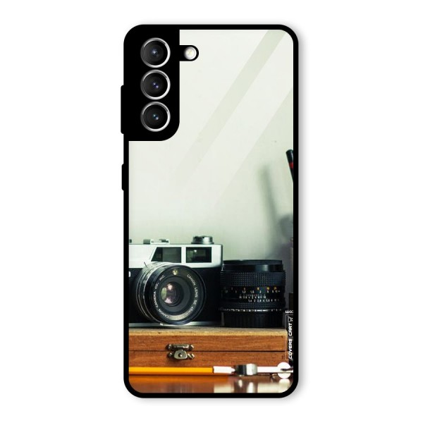 Photographer Desk Glass Back Case for Galaxy S21 5G