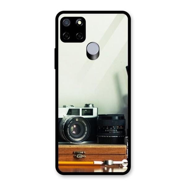Photographer Desk Glass Back Case for Realme C12