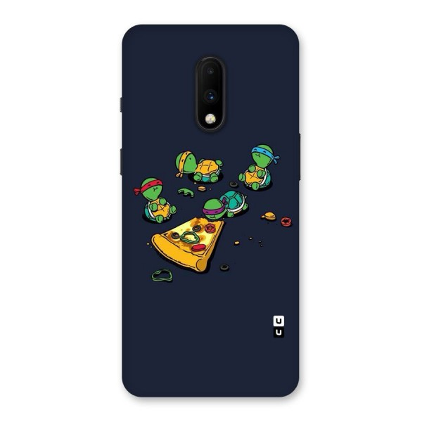 Pizza Overload Back Case for OnePlus 7