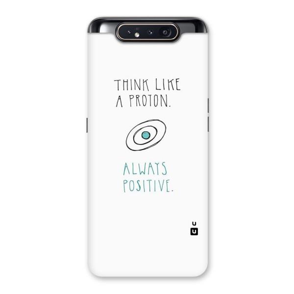 Proton Positive Back Case for Galaxy A80