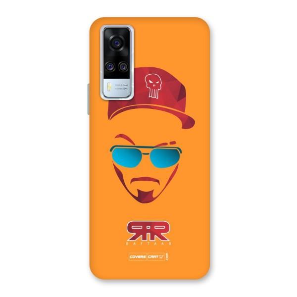Raftaar Orange Back Case for Vivo Y31