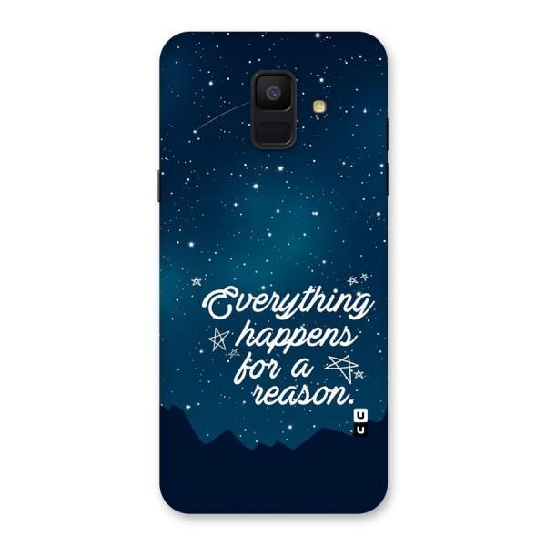 Reason Sky Back Case for Galaxy A6 (2018)