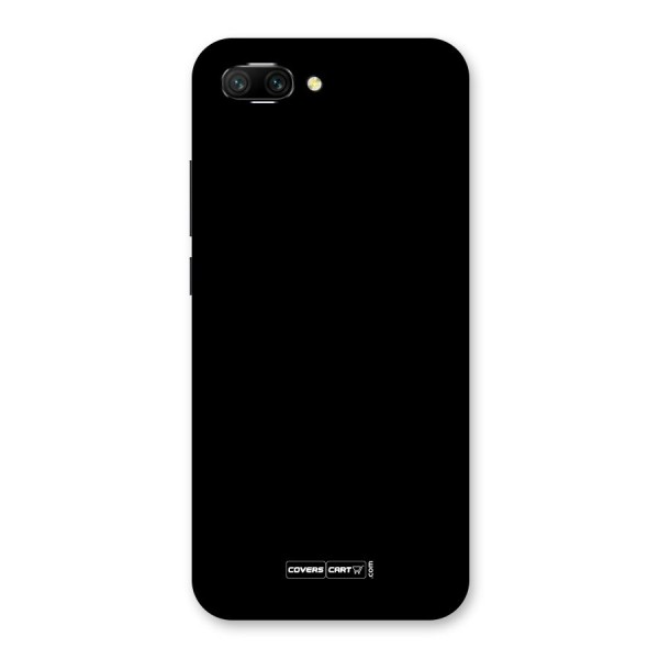 Simple Black Back Case for Honor 10