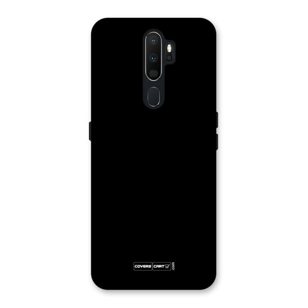 Simple Black Back Case for Oppo A5 (2020)