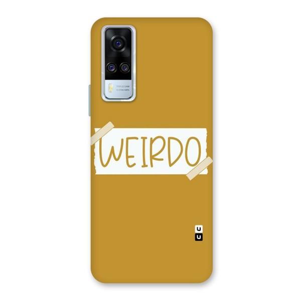 Simple Weirdo Back Case for Vivo Y51A