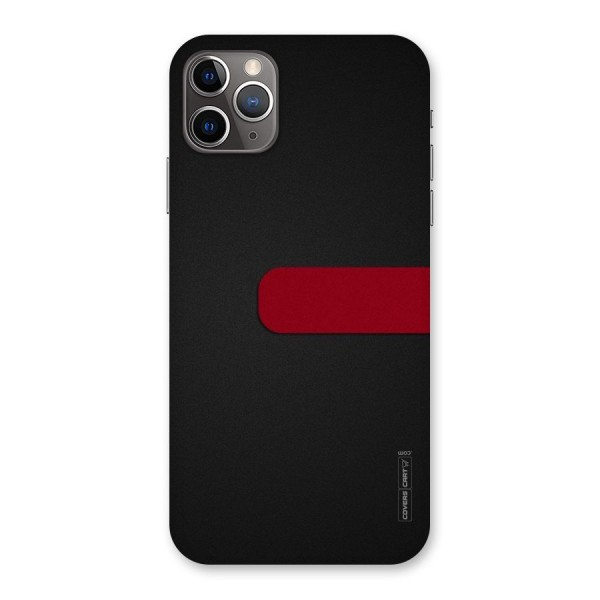 Single Red Stripe Back Case for iPhone 11 Pro Max