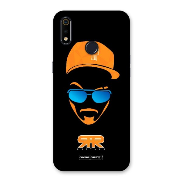 Special Raftaar Edition Orange Back Case for Realme 3i