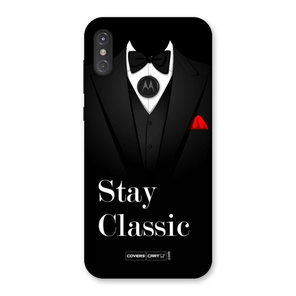 Stay Classic Back Case for Motorola One Power