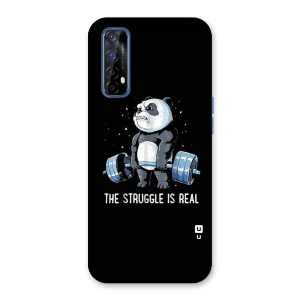 Struggle is Real Panda Back Case for Realme 7
