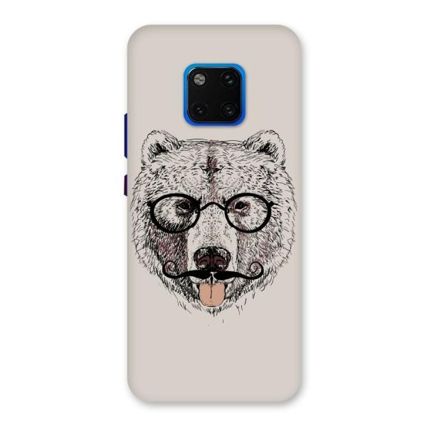Studious Bear Back Case for Huawei Mate 20 Pro