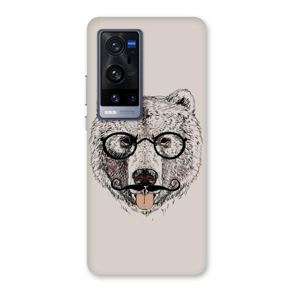 Studious Bear Back Case for Vivo X60 Pro Plus