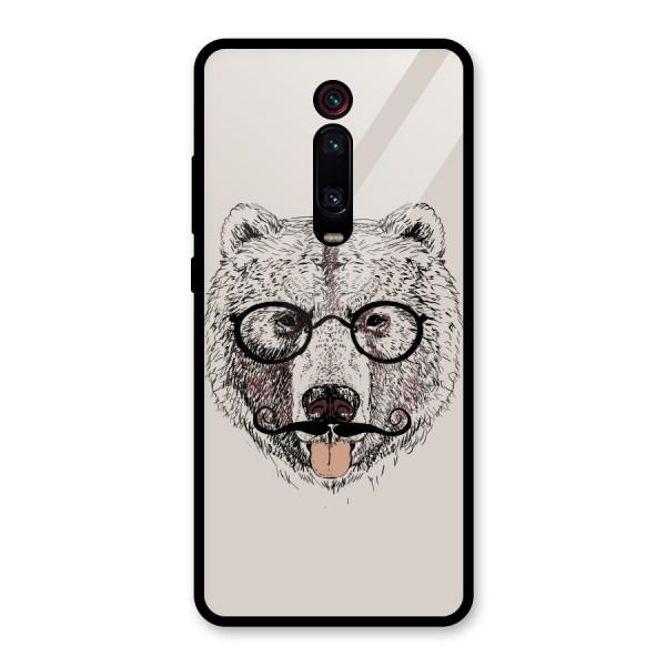 Studious Bear Glass Back Case for Redmi K20