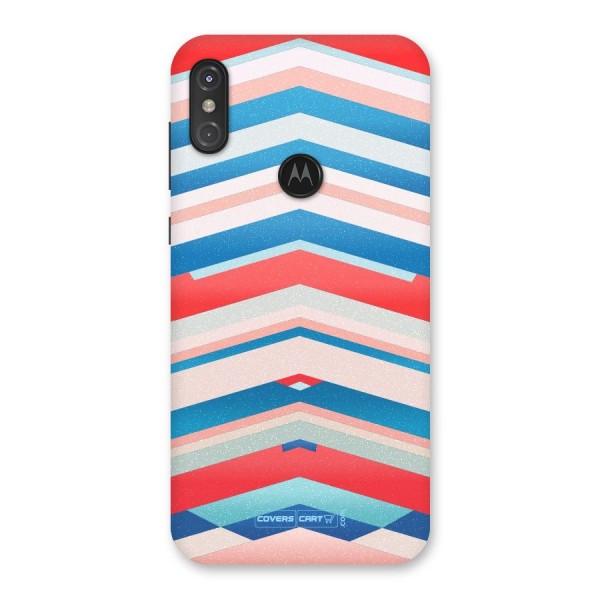 Unique Vibrant Colours Back Case for Motorola One Power
