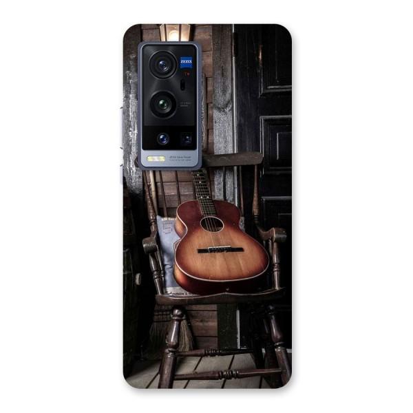 Vintage Chair Guitar Back Case for Vivo X60 Pro Plus