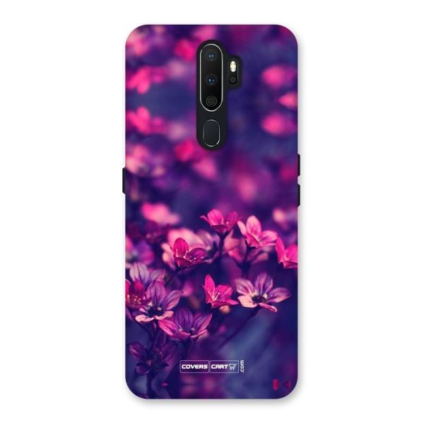 Violet Floral Back Case for Oppo A5 (2020)
