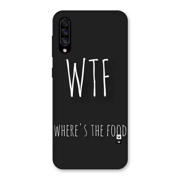Where The Food Back Case for Galaxy A30s