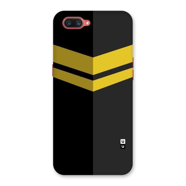 Yellow Lines Back Case for Oppo A3s