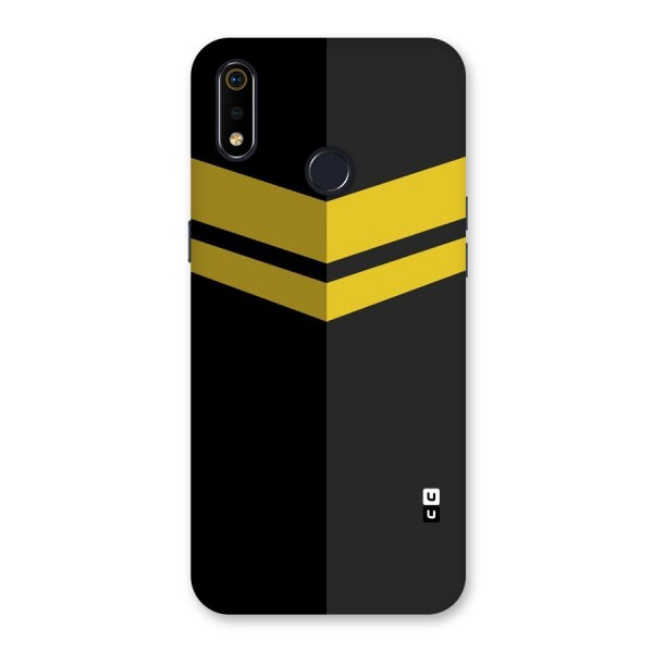 Yellow Lines Back Case for Realme 3i