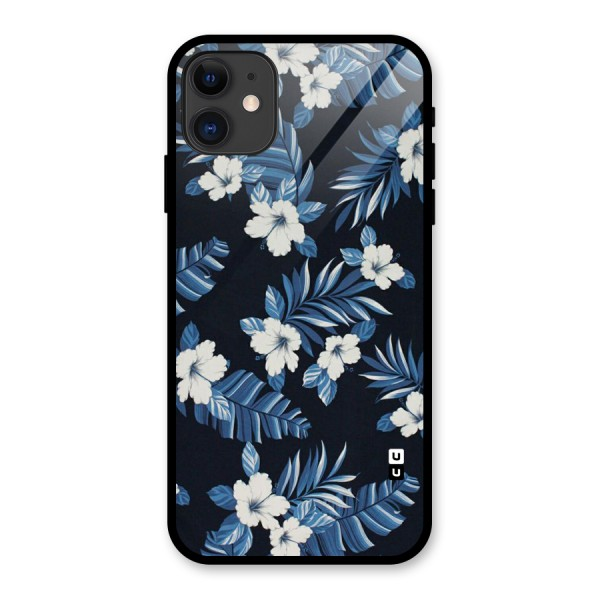 Aesthicity Floral Glass Back Case for iPhone 11
