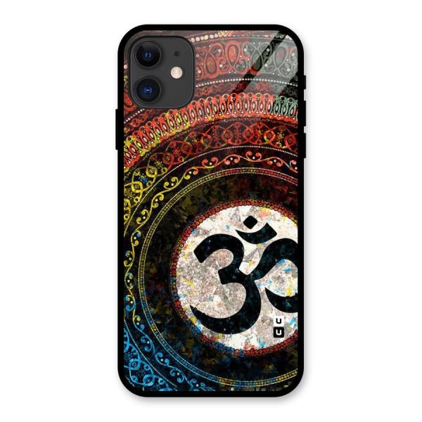 Culture Om Design Glass Back Case for iPhone 11