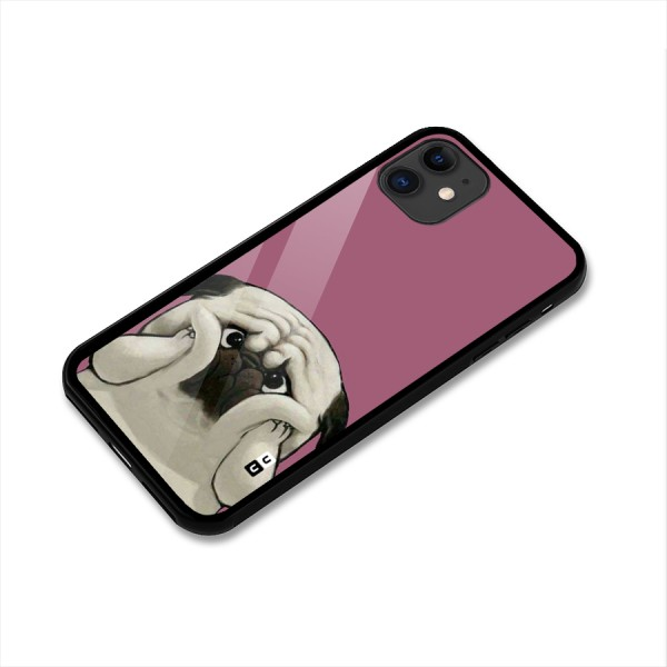 Chubby Doggo Glass Back Case for iPhone 11