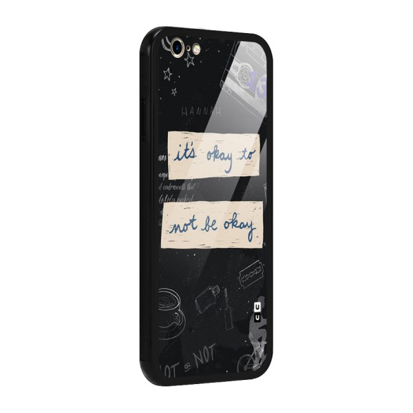 Its Okay Glass Back Case for iPhone 6 6S