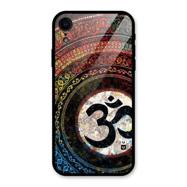 Culture Om Design Glass Back Case for iPhone XR