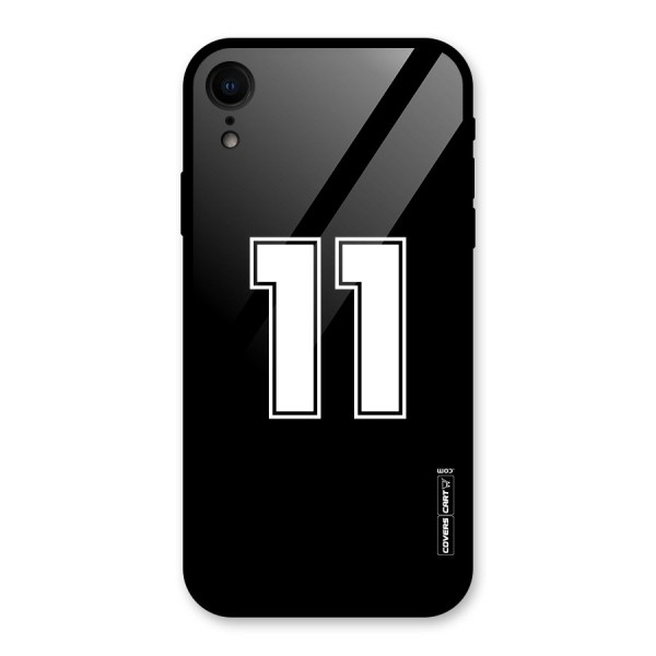Number 11 Glass Back Case for iPhone XR