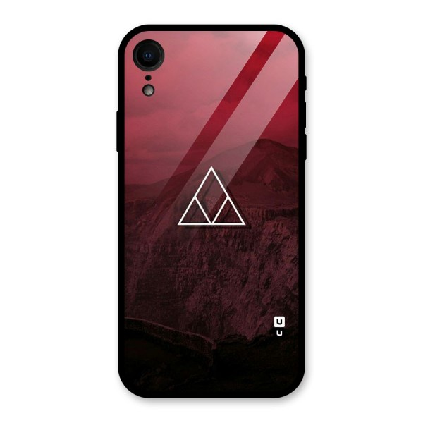 Red Hills Glass Back Case for iPhone XR