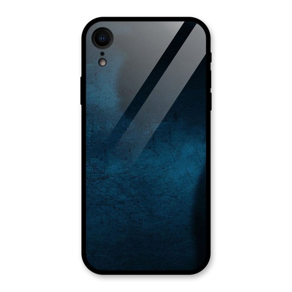 Royal Blue Glass Back Case for iPhone XR